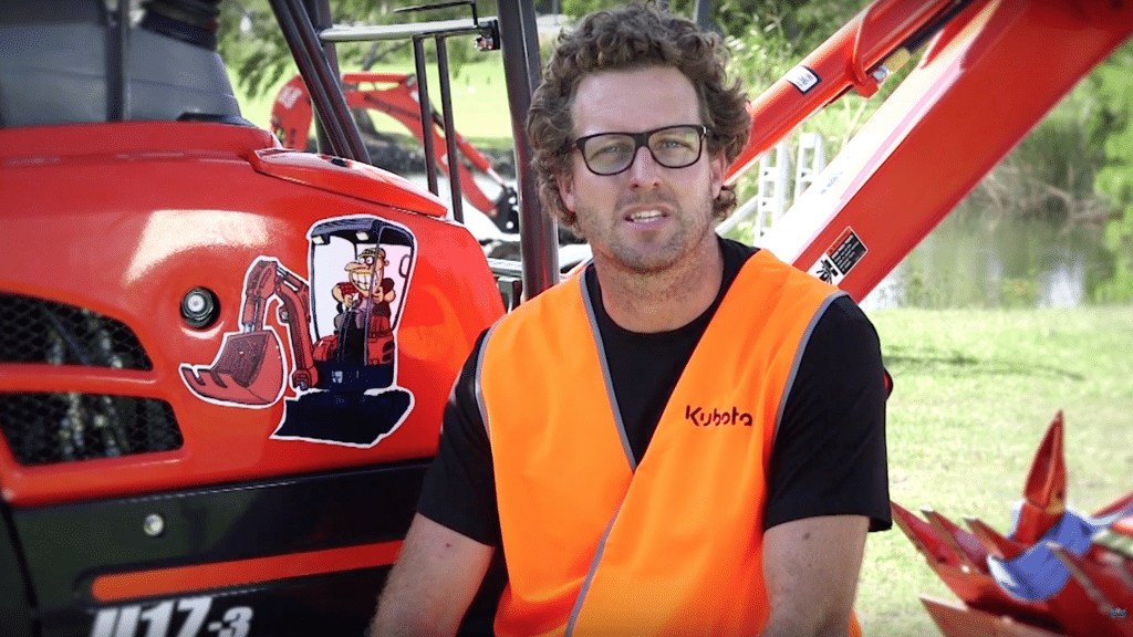 Keeping a Mini Excavator for Hire Safe